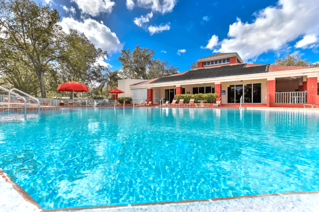 Community Pool and Patio